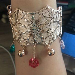 Fun, fun, fun bracelet with charms!